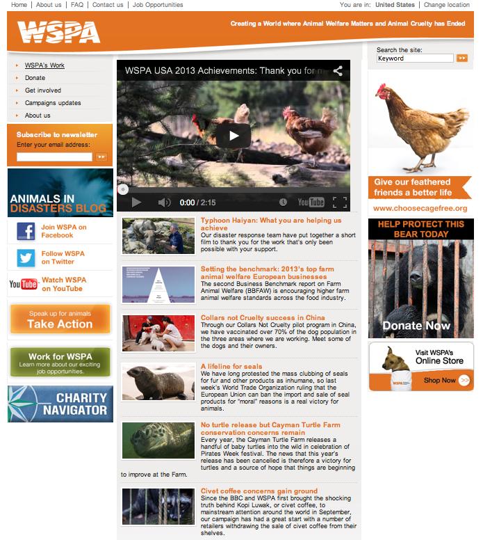 WSPA Homepage v2