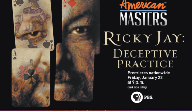 Ricky Jay: Deceptive Practice on PBS Jan 23rd at 9pm