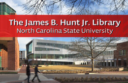 Hunt Library at NCSU