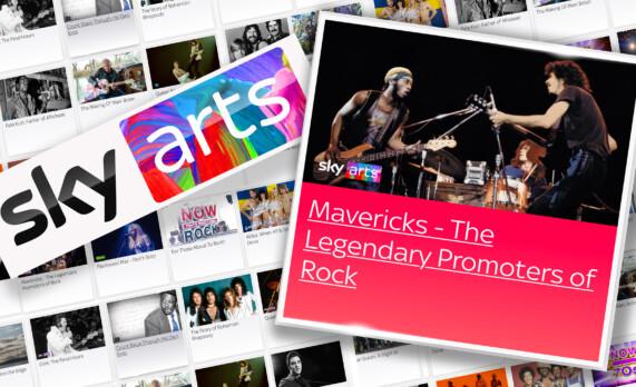 MAVERICKS on Sky Arts UK